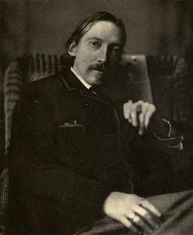 magie Robert Louis Stevenson portrait