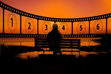 cinéma pellicule banc