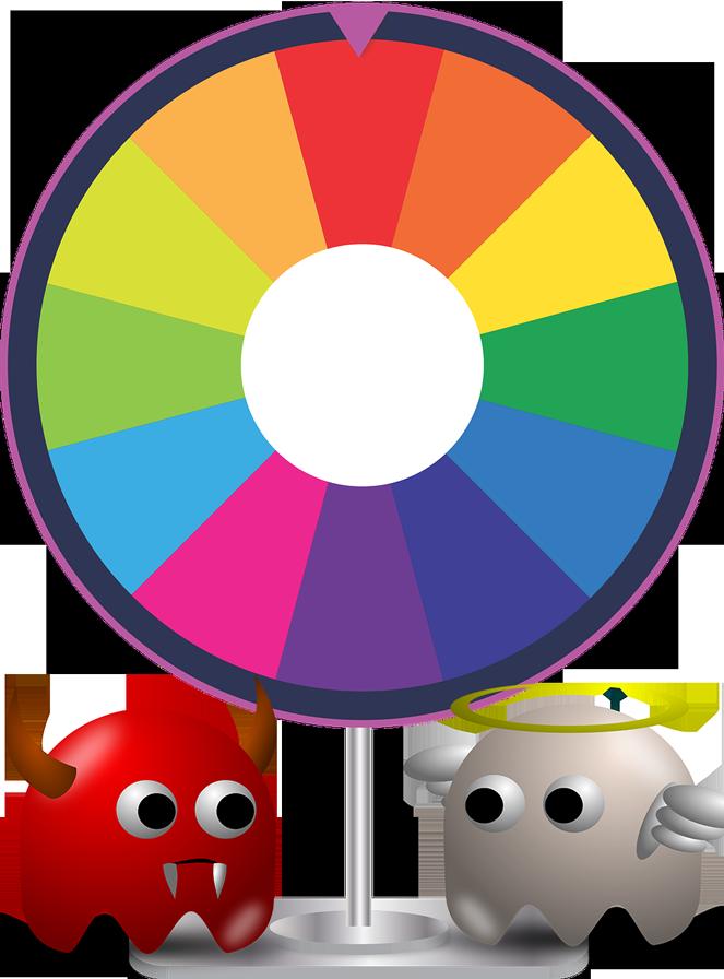 magie-wheel-fortune-devil-angel-ghost-arcade