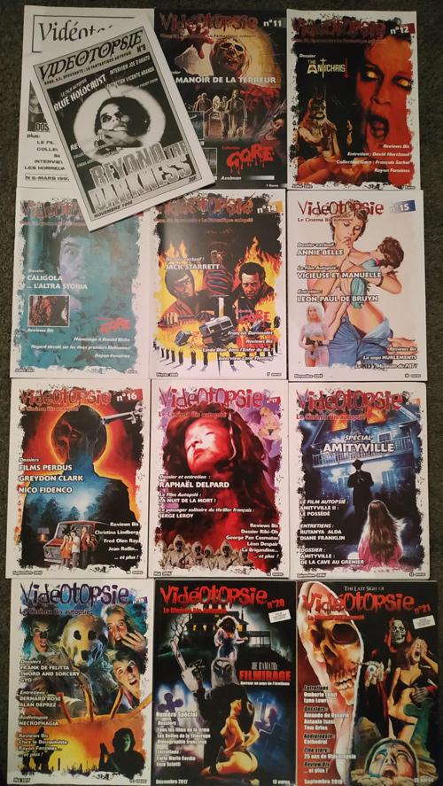 Vidéotopsie - fanzine - cinéma bis - dissection - David Didelot